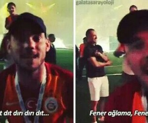 galatasaray and sneijder image