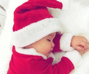 baby, boy, and christmas image
