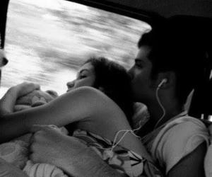 couple, kiss, and kisses image