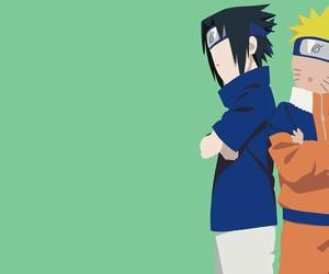 naruto, sasuke, and wallpaper image
