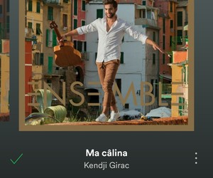 music, spotify, and kendji image