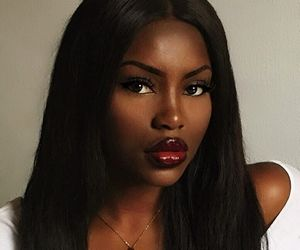 beautiful, gorgeous, and black woman image