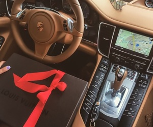 luxury, car, and Louis Vuitton image