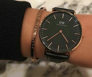 watch, black, and accessories image