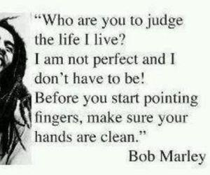 bob marley, quote, and life image