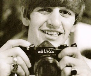 ringo starr, the beatles, and camera image