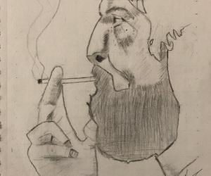 amazing, painting, and smoke image