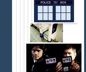 doctor who, fandom, and sherlock image
