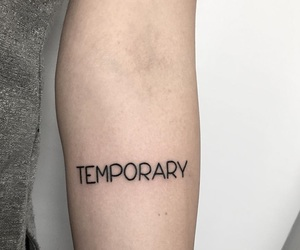 tattoo and temporary image