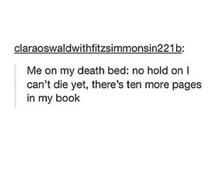 books, death, and funny image