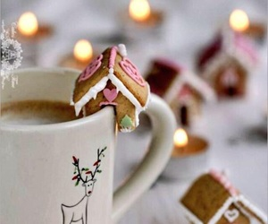 coffee, food, and christmas image