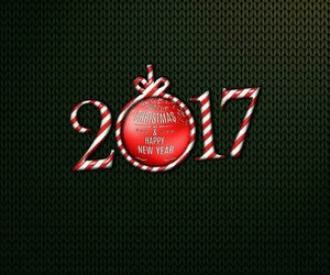 black, happy new year, and new year image