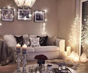 light, christmas, and home image