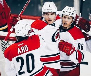 carolina hurricanes, finland, and hockey image