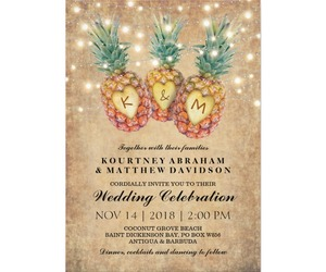 beach, invitations, and rustic image
