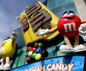 photography and m&m's image