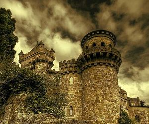fairy tale, fortress, and palace image