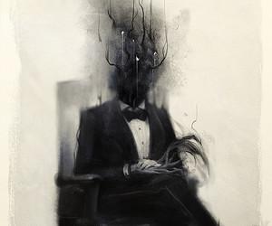 dark and graphic image