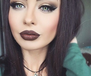 make up, eyes, and maquillage image