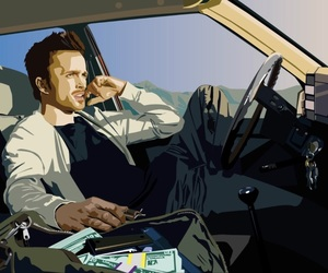 boy, breaking bad, and car image