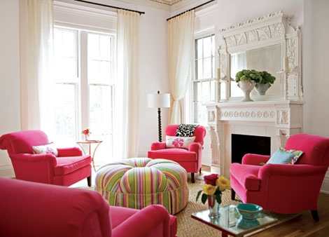 decor, colorful, and pink image