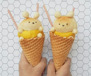 ice cream, food, and cute image