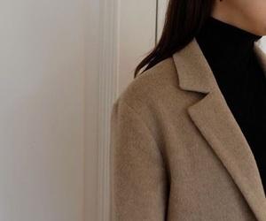 fashion, camel, and coat image