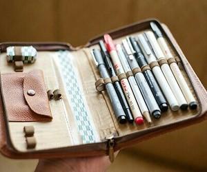 pen, pencil, and vintage image