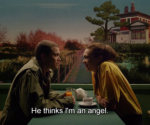 love, angel, and film image