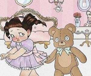crybaby, teddy bear, and melanie martinez image
