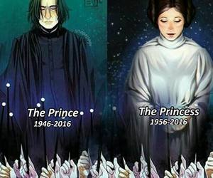 harry potter, star wars, and alan rickman image