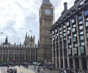 Big Ben, girl, and london image