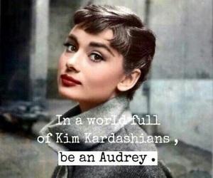 audrey hepburn, quotes, and audrey image