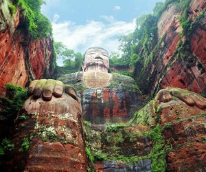 Buddha, china, and nature image