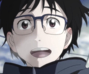 anime, yuri!!! on ice, and yuri on ice image