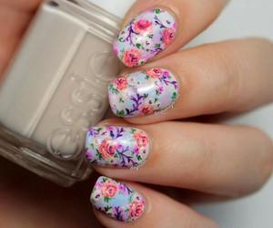 pretty, florido, and nails image
