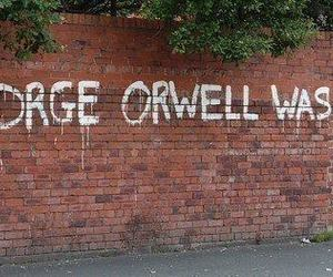 George Orwell, 1984, and orwell image