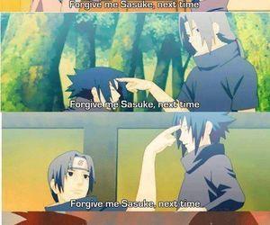 sasuke, naruto, and itachi image