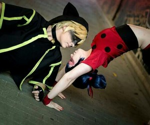 break dance, cosplay, and miraculous image