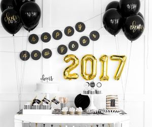 2017, new year, and party image