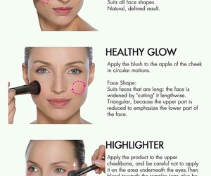 blush, makeup, and tips image