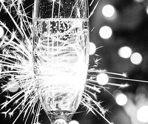 champagne, new year, and party image