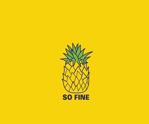 theme, pineapples, and wallpaper image