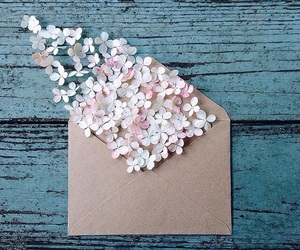 flowers and envelope image