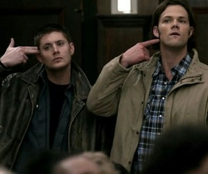 supernatural, Sam, and dean image