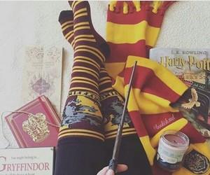 gryffindor, harrypotter, and hogwarts image