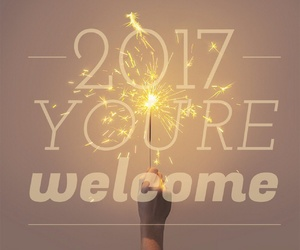 celebrate, happy new year, and typography image