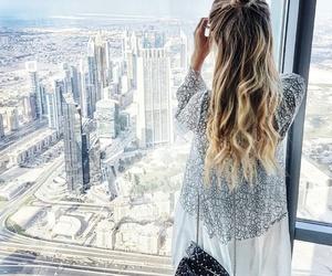 hair, city, and Dubai image