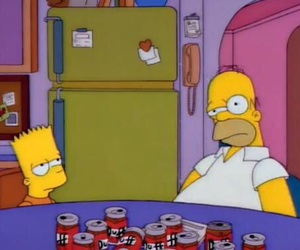 homer, bart, and the simpsons image