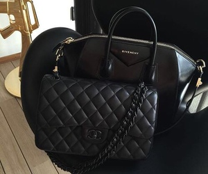 chanel, black, and Givenchy image